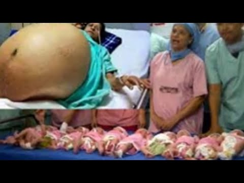 """Giving birth to 9 children """"at once"""" ... a case that is more than rare in Morocco"""