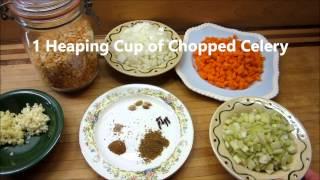 Vegan Vegetarian Split Pea Soup (dal Soup) Indian Style!