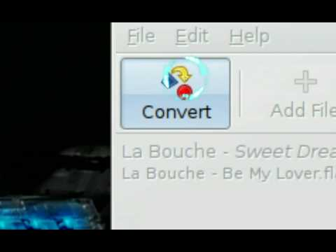 Convert To MP3 OGG FLAC - SoundConverter - Ubuntu Linux 8.04