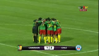 CRTV TOKYO 2020 WOMEN S FOOTBALL QUALIFIER 1st LEG CAMEROON 1 2 CHILE 10th April 2021