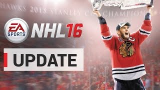 NHL 16 News - Day 1 Patch Update: Shootouts, United Center, EASHL Player Badges
