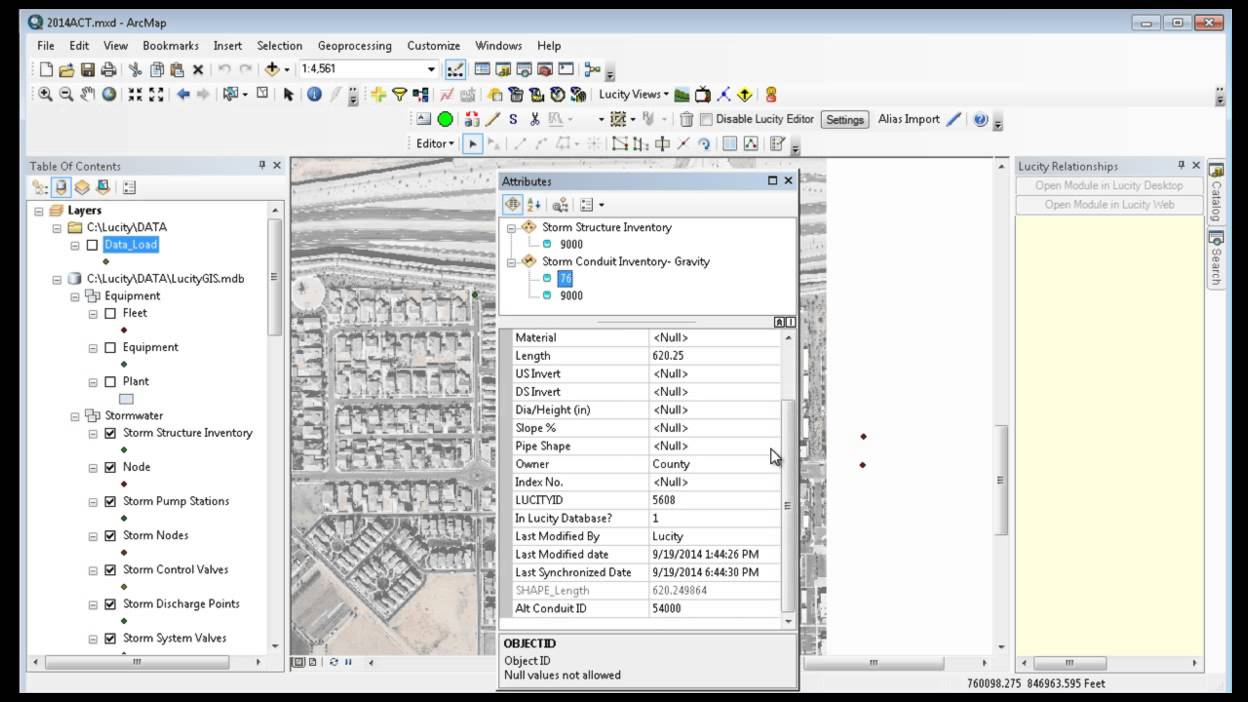 GIS Desktop - Editor Tools