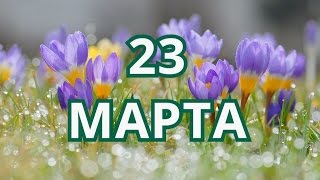 23 марта Всемирный день метеорологии и другие праздники