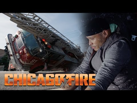 Embarrassing! - Firetruck Pile Up   Chicago Fire