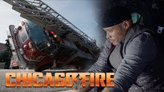 Embarrassing! - Firetruck Pile Up | Chicago Fire