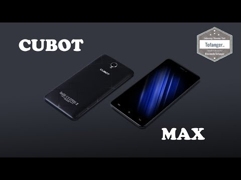 cubot-max-:-woahhhh-6-pouces-!-3gb-ram-32gb-rom---unboxing
