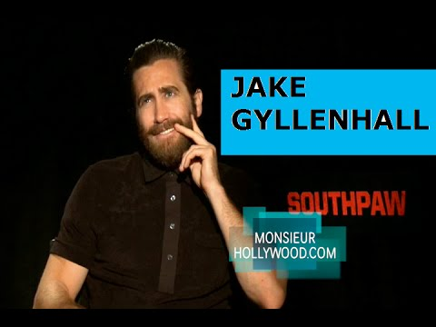 Jake Gyllenhaal, exclusive interview by Monsieur Hollywood, speaks French, Everest, SouthPaw