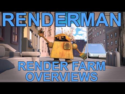 Renderman Render Farm Impressions (Pixel Plow & Zync)