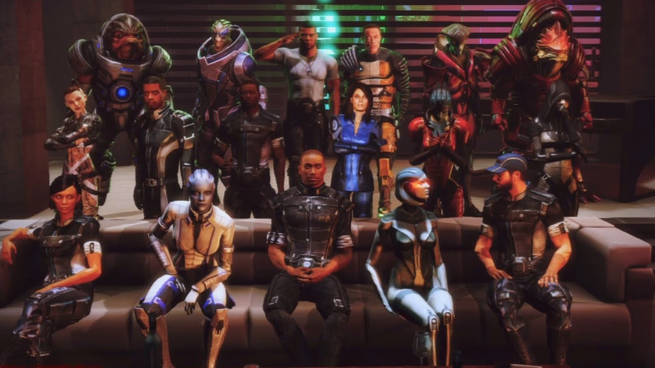 Mass Effect 3 Citadel Dlc Party Time W Ex Normandy