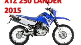 YAMAHA XTZ 250 LANDER 2015 - MOTONEWS