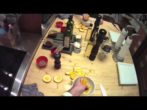 Orange filetieren, wie du aus der Apfelsine schöne Filets schneidest zeigt Dir der Chefkoch