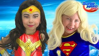 Alice Becames a Super Hero Girls and comes to help little Princesses
