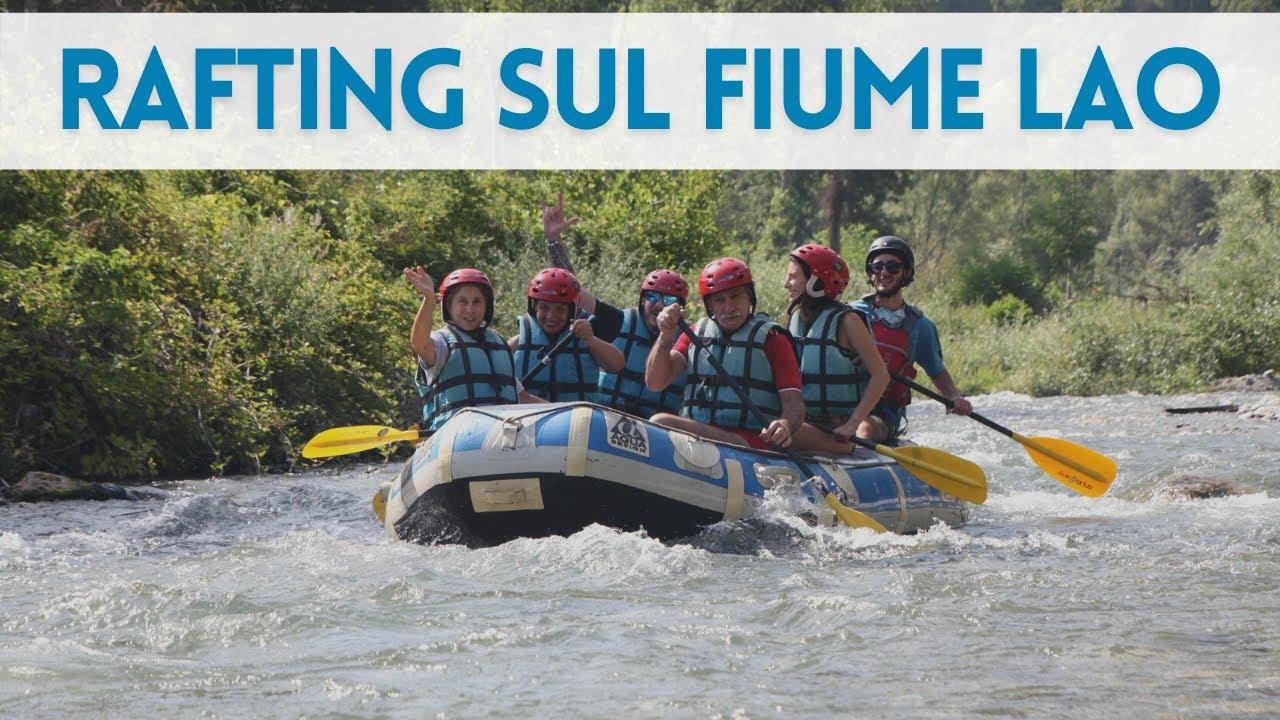 Esperienza del rafting sul Fiume Lao