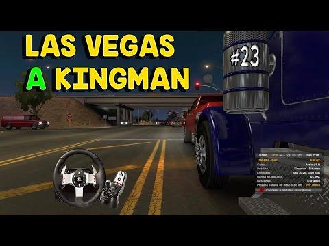 Levando areia de Nevada a Arizona, Peterbilt 389-ATS+G27+Notebook- American Truck Simulator - #23