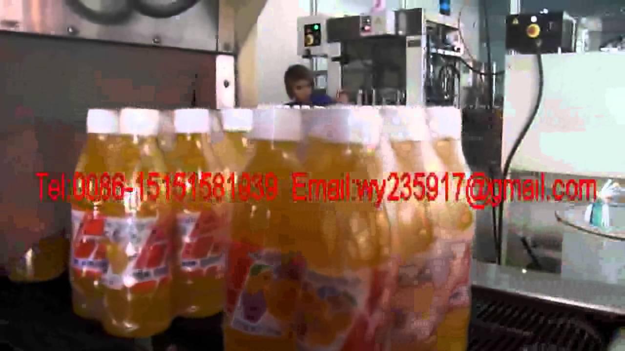 Small Juice Filling Machine Juice Bottling Equipment Fruit
