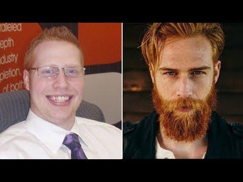Der Friseur eines Mannes meinte, er solle sich einen Bart wachsen lassen - Am Ende veränderte es...