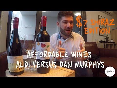 Affordable Wines Ep.2 / $7 Shiraz / Aldi V Dan Murphys   Garkvlog