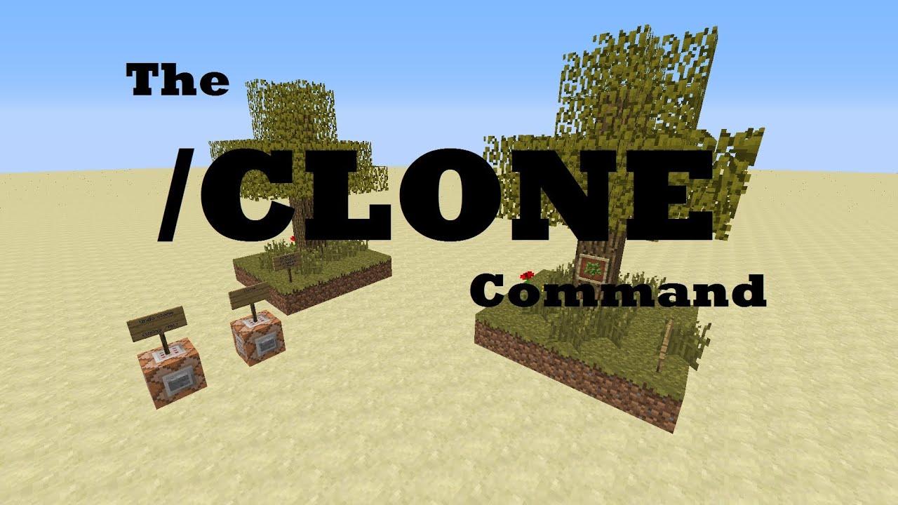 The Clone Command - A Quick Minecraft Tutorial