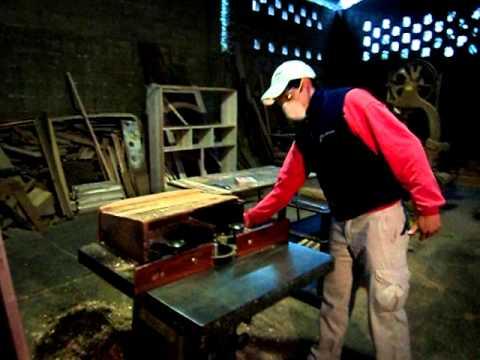 Seguridad e higiene en una carpinteria youtube for Taller de ebanisteria