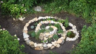 How to make a proper permaculture herb spiral Design your garden