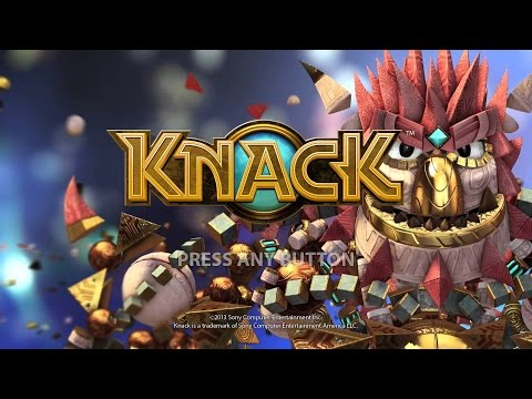 Playstation 4 Longplay [027] Knack (part 1 of 5)