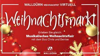 Stadt Walldürn | Musikalisches Weihnachtsflair mit dem Duo Chris und Denise