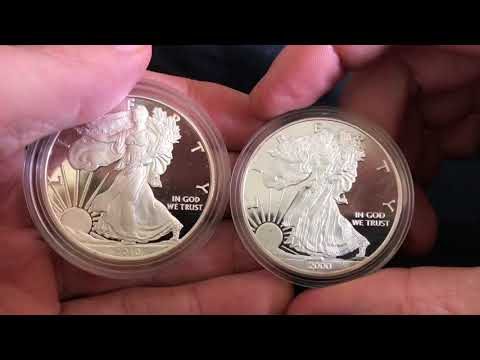 Which Of These Silver Eagles Is Fake?