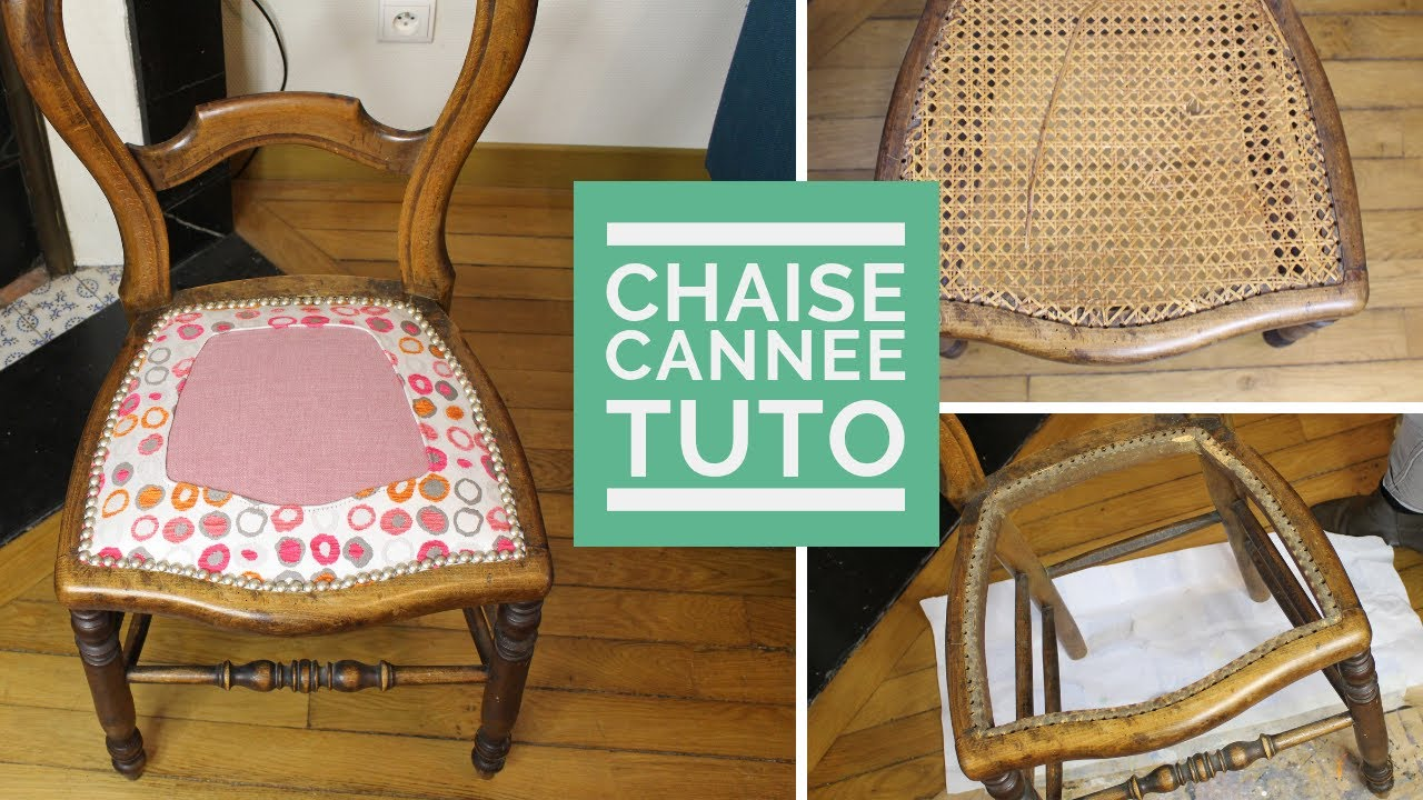 Renover Une Chaise Medaillon [tuto] comment relooker une chaise cannÉe comme un pro!