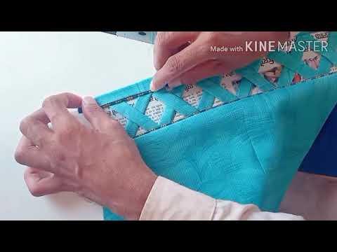 Baju Ka New Design 2020   How to Make Sleeves Designing   SR BRAND BOUTIQUE
