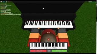 Mad World by Gary Jules on a ROBLOX piano.