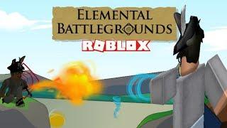 Roblox Elemental Battlegrounds | How to level up fast! | Beast mode!