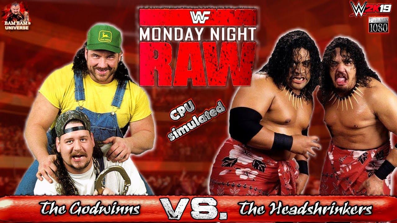 The Godwinns VS. The Headshrinkers   WWF   2K19 Gameplay