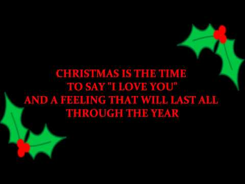 Christmas Is The Time To Say I Love You (Billy Squier karaoke) .wmv
