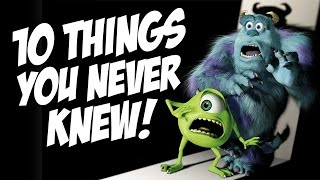10 INSANE Things You NEVER Knew about Monster's Inc!!!