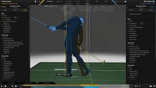 3D Swing Video Using Gears Technology | Martin Chuck | Tour Striker Golf Academy