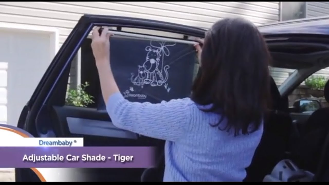 Baby Car Shade >> Dreambaby Wide Car Window Shade - Demonstration Video | BabySecurity - YouTube
