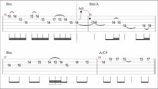 Gambar cover Metallica - Fade To Black (Slow) Guitar Solo Tab+BackingTrack