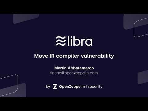 Libra: Move IR Compiler Vulnerability