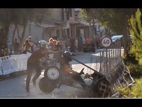 CARRETONS BUNYOLA 2017 CRASH & SHOW accidentes espectaculo carrilanas soapbox derby red bull speed