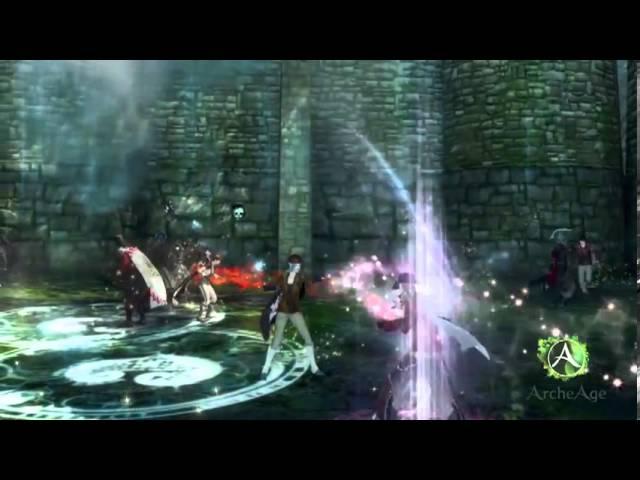 Видео ArcheAge — первый взгляд на осады замков