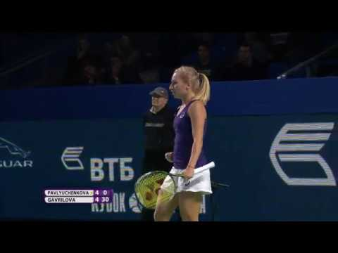 2016 Moscow Open Quarterfinal Highlights   Pavlyuchenkova vs Gavrilova   WTA Highlights