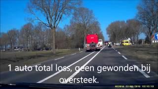 Ongeval N348 Raalte - Lemelerveld