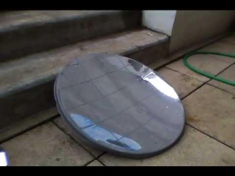 parabole solaire youtube ForMiroir Solaire Parabolique