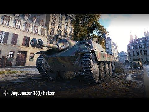 Jagdpanzer 38(t) Hetzer | 11 фрагов в Париже