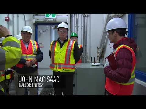 Power flows from Labrador to Newfoundland