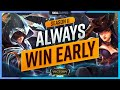 Gambar cover 10 BROKEN Champions That ALWAYS WIN Early Game In Season 11 - League of Legends