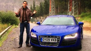 Jonny Reviews The Audi R8 V10 #TBT - Fifth Gear