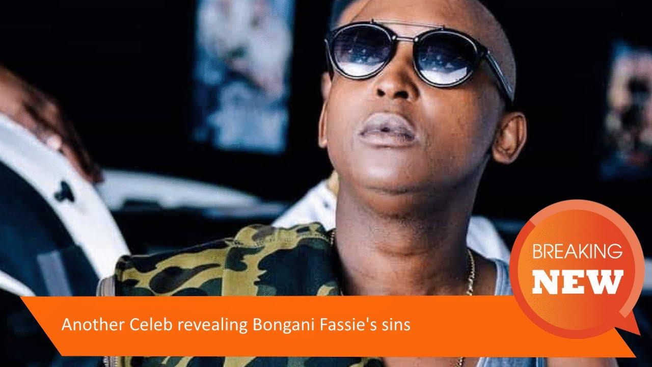 Another Celeb revealing Bongani Fassie's sins