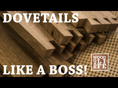 How to Make Hand Cut Dovetails - Like a Boss! ft. Veritas Tools  | WWL Shop Tips