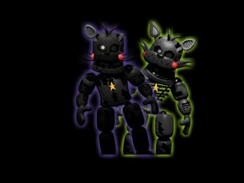 (REQUESTED) Lefty Styled Withered George and Maxie | FNaF/Jolly 3 Speed Edit